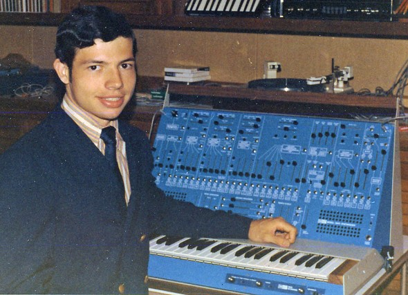 "ARP insiders nennen ihn ""Blue Marvin"" als Tribute an ARP Präsident Marvin Cohen. (courtesy of Don Muro)"
