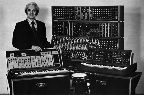 Bob Moog Mid 70s