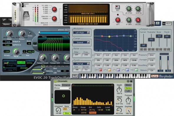 Eine Auswahl an Software-Vocodern