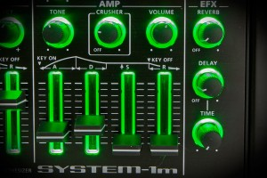 Roland System-1m Effektsektion