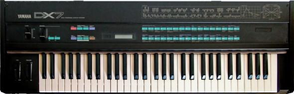 Der Yamaha DX7 kam 1983 auf den Markt.