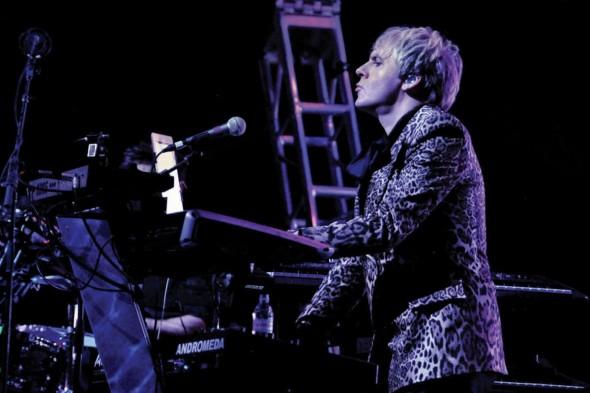 Nick Rhodes von Duran Duran, Foto: Keyboard Magazine