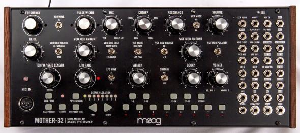 Moog Mother-32 Draufsicht