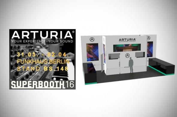 Arturia auf Superbooth und Musikmesse