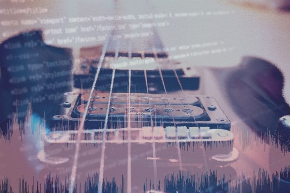 Rock-Gitarre synthetisch erstellen
