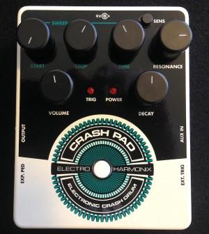 Electro-Harmonix Crash Pad Test: Draufsicht
