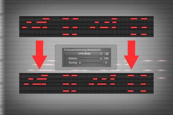 MIDI Quantisierung und Audio Quantisierung: Sechs Regeln, die es zu beachten gilt