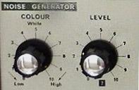 EMS VCS 3 / EMS Synthi A: Der stufenlos einstellbare Noise Generator war ein beliebtes Feature.