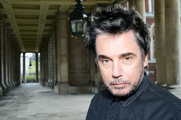 Jean-Michel Jarre Interview zu Electronica 2 (Foto: Tom Sheehan (c) EDDA Tom)