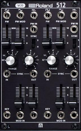 Roland SYSTEM-500: Modul 512