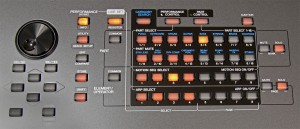 Yamaha Montage Bedienfeld rechts