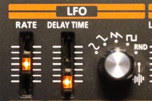 Der LFO eines Roland JP-08