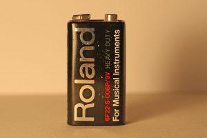 Speicherbatterie einer Roland TR-909