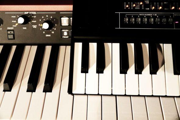 Tastengröße bei Synthesizern