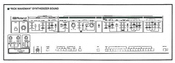 Roland Jupiter-4 Rick Wakeman Sound