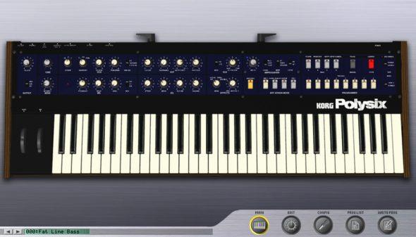 Korg Polysix Software-Version