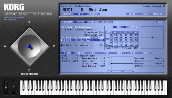 Korg Wavestation Software