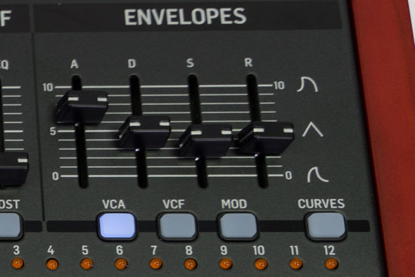 Behringer Deep Mind 12: Envelopes