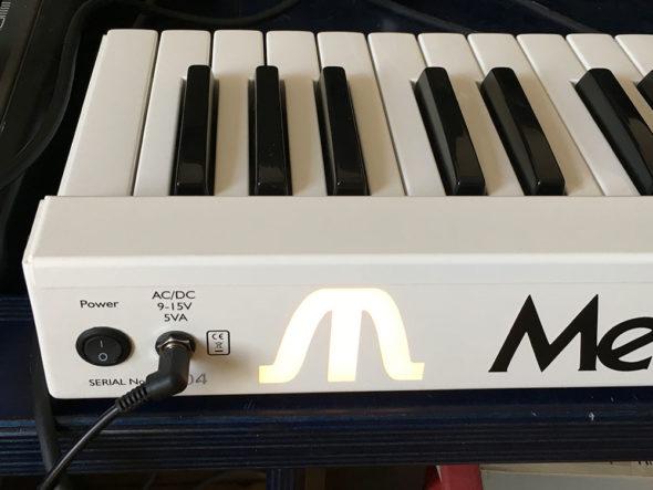 Mellotron Micro Rückseite