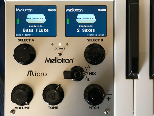 Mellotron Micro OLED-Displays