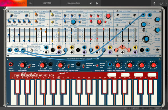 Arturia V Collection 6 Test – Buchla Easel