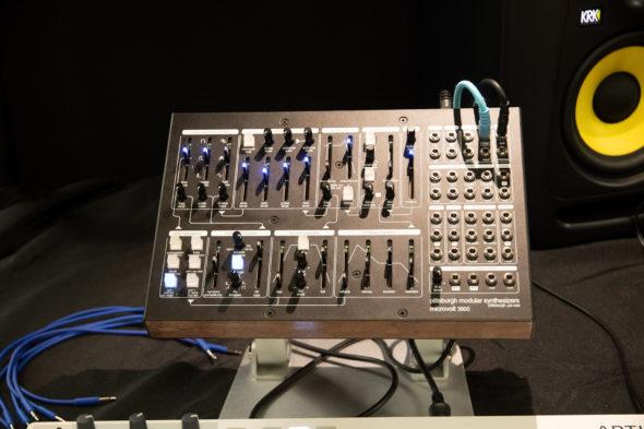 Pittburgh Modular Microvolt 3900 auf der Superbooth 2018