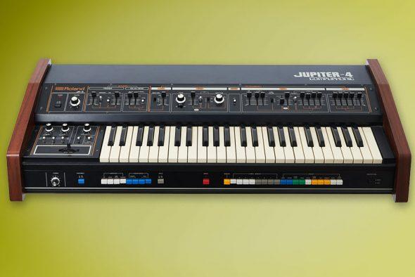 Roland Jupiter-4 Synthesizer von Gestern