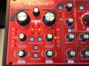 Behringer Neutron Oscillator-Sektion