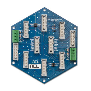 ACL System 1 Test: Die Stromversorgung ist sternförmig aufgebaut.