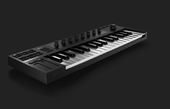 DAs kleinste Controller Keyboard bei NI: NATIVE INSTRUMENTS KOMPLETE KONTROL M32
