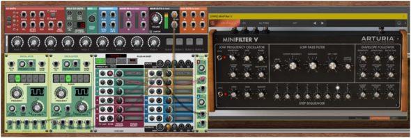 Tolle Sache: Cherry Audio Voltage Modular kann nun Plug-ins verwalten