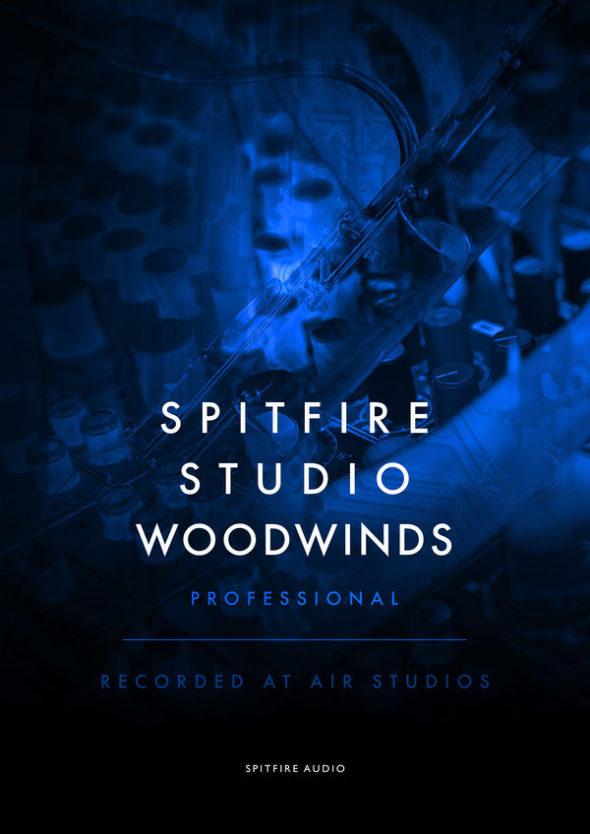 Erweiterung deer Studio Orchestra Line: Spitfire Audio Studio Woodwinds