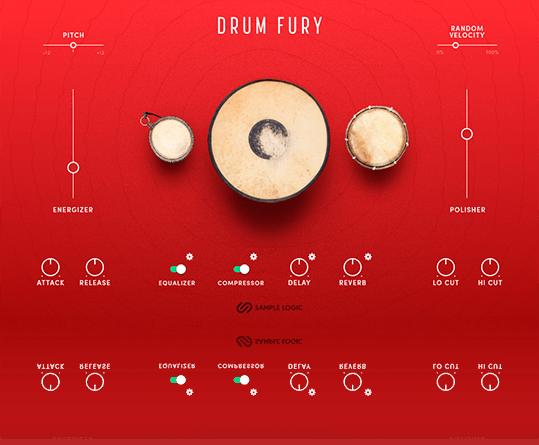 Apokalyptische und Epik Sounds: Sample Logic DRUM FURY