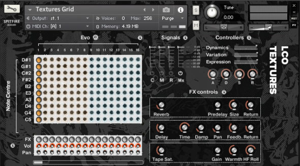 Spitfire Audio LCO Textures: Das EVO Grid