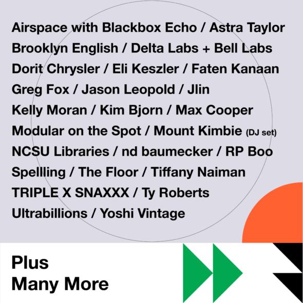 Moogfest 2019 Line-up