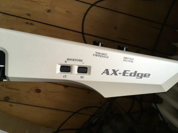 Roland AX Edge Spielhilfen