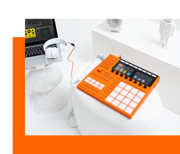 Native Instruments Maschine Flame Orange