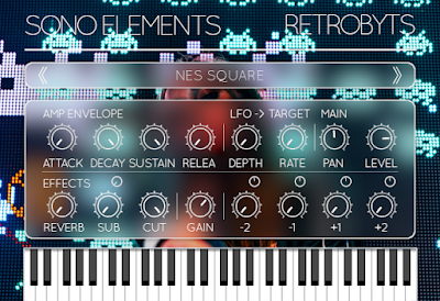 Sono Elements RetroByts GUI