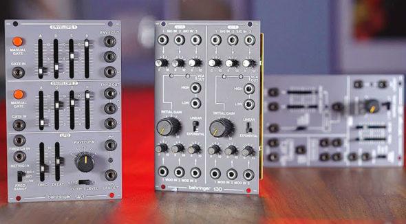 Behringer System 100 Modular Synthesizer