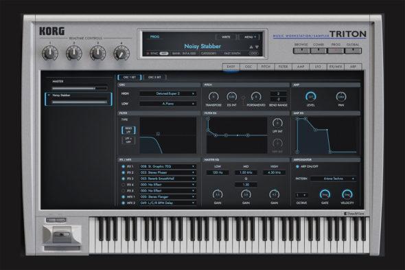 Korg Triton Software