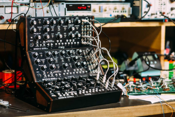 Moog Mother 32 Update 2.0