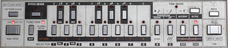Roland TB-303 Bedienfeld