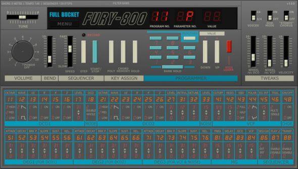 FullBucket Fury-800